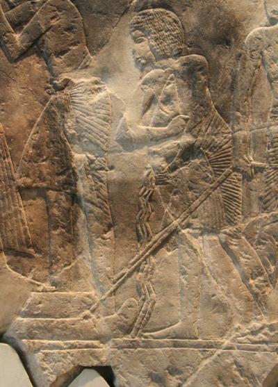 transporte trineo-Mastaba de Maya