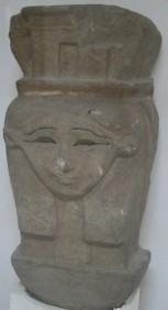 Hathor capital. Bahr el-Yussef museum. Photo: Mª Rosa Valdesogo Martín.