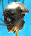 "Head fragment from a statue of a ""Bald of Hathor"". New Kingdom. Metropolitan Museum of New York. Photo: www.metmuseum.org"
