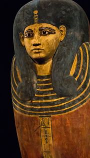 Inner coffin of Ahmose-Meritamun. XVIII Dynasty. Cairo Museum. Photo: www.wikimedia.org