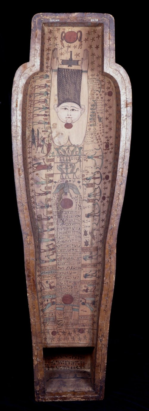 Coffin of Hornedjitef from Ptolemaic Period.