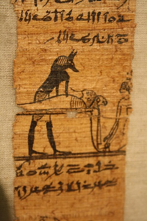 Fragment of Papyrus of Hornefer. Ancient Egypt. Photo: www.ancient.eu.com