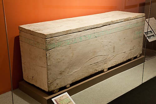Coffin of Child Myt. XI Dynasty. Thebes. Ancient Egypt