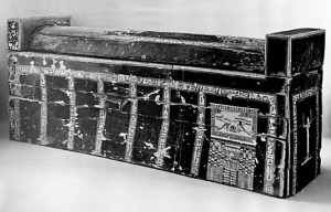 Coffin of Ikhet. XIII Dynasty from el-Asasif. Ancient Egypt
