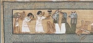 Papyrus of Ani. Ani greeting the Ennead. XIX Dynasty. British Museum. Ancient Egypt