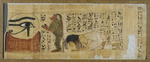 Book of the Dead of Henuttawy. XXI Dynasty. Ancient Egypt. British Museum