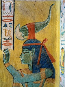 Serket from the tomb of Khaemwaset. Valley of the Queens. XX Dynasty. Ancient Egypt.