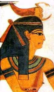 Serket from the tomb of Nefertari. XIX Dynasty. Ancient Egypt.