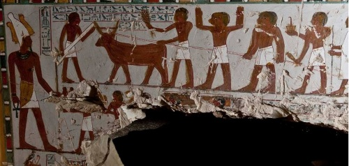 Tomb of Gatekeeper of God Amun in Gourna. Ancient Egypt. XVIII Dynasty. Photo www.thecairopost.com