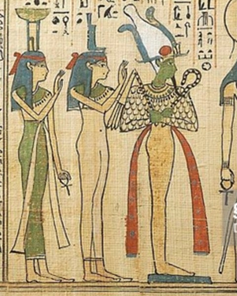 Book of the Dead of Khonsumes. Ancient Egypt