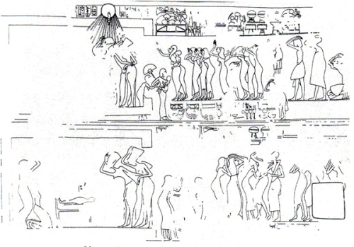common-moourners-of-meketaten-lament-in-amarna