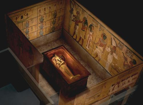 Funerary Chamber of Tutankhmun. Image: National Geographic.